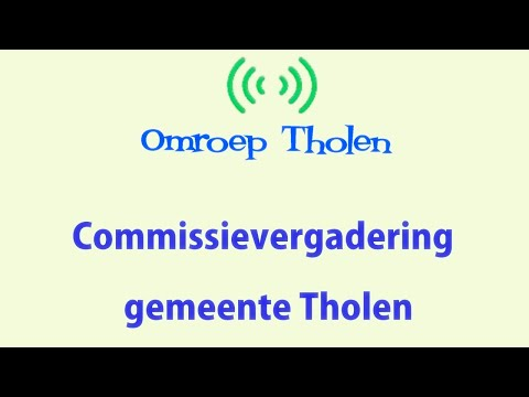 Vergadering Commissie Bestuurszaken - Omroep Tholen - 30 juni 2021