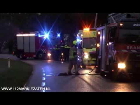 Gewonde bij ernstig ongeval op de Stavenisseweg(N286) bij Sint-Maartensdijk