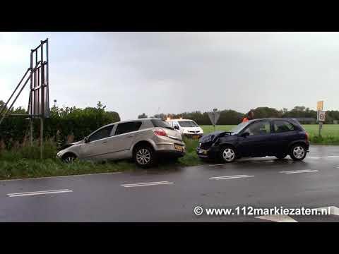 Twee gewonden bij aanrijding op de kruising Postweg/Eeweg in Tholen