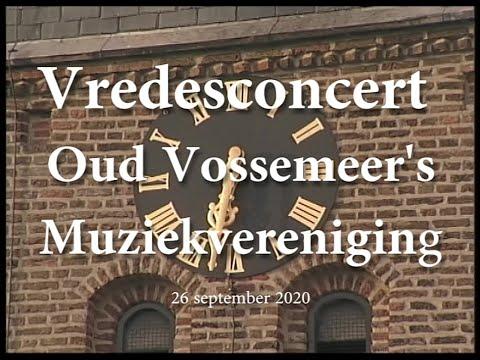 Vredesconcert Oud Vossemeer's Muziekvereniging - 26 september 2020
