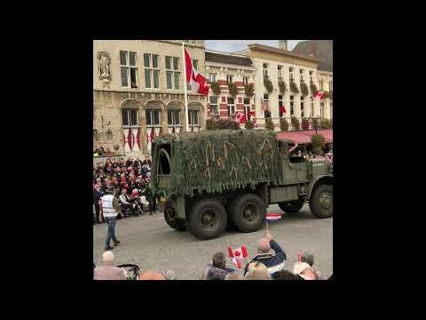 Defilé Bergen op Zoom 75 jaar bevrijding