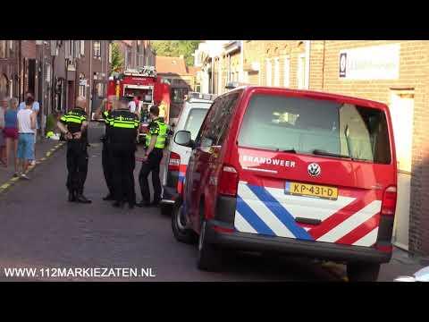 Brandweer ramt deur in na melding binnenbrand Tholen